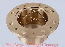 Bunting Bearings, LLC AA063001 Plain Sleeve & Flanged Bearings