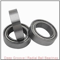 PEER R6 Radial & Deep Groove Ball Bearings