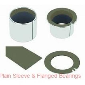 Bunting Bearings, LLC AA010108 Plain Sleeve & Flanged Bearings