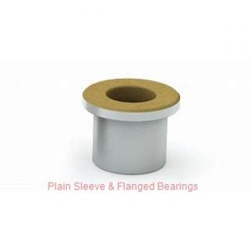 Bunting Bearings, LLC AA091201 Plain Sleeve & Flanged Bearings