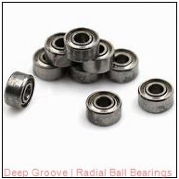 0.7500 in x 1.8750 in x 0.5625 in  Kilian (Altra) F-750 Radial & Deep Groove Ball Bearings