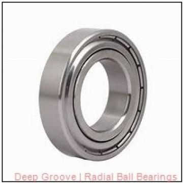 General 22007-01 Radial & Deep Groove Ball Bearings