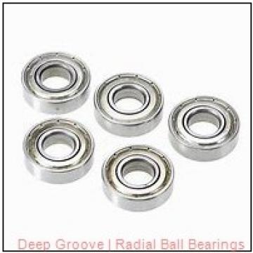 General R 20 Radial & Deep Groove Ball Bearings