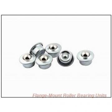 1-7/16 in x 4.0600 in x 5.7500 in  Dodge F4BK107RE Flange-Mount Roller Bearing Units
