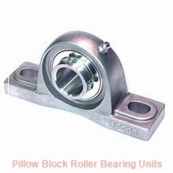 8.4375 in x 22-1/2 to 25 in x 10-1/2 in  Dodge P4B-SAFXT807TT Pillow Block Roller Bearing Units #1 image