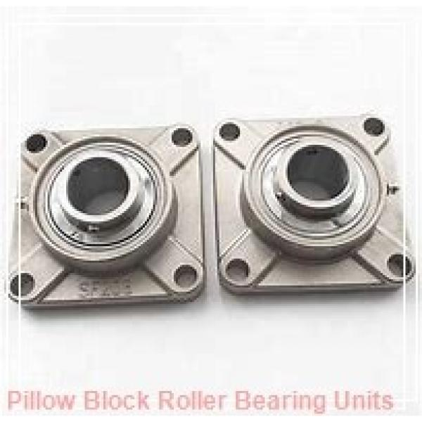 1.6250 in x 6.88 to 7.63 in x 3.38 in  Dodge P2BDI110RE Pillow Block Roller Bearing Units #1 image
