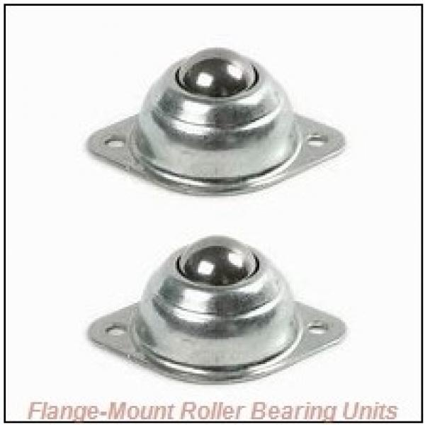 2-1/2 in x 7.2500 in x 12.0000 in  Dodge F4BSD208 Flange-Mount Roller Bearing Units #1 image