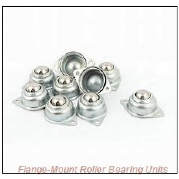 1-7/16 in x 4.4200 in x 5.7500 in  Dodge F4BK107R Flange-Mount Roller Bearing Units #2 image