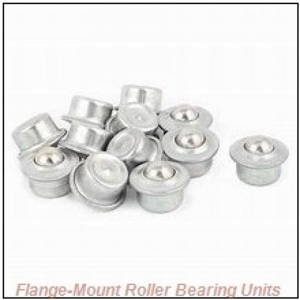 1-7/16 in x 4.0600 in x 5.7500 in  Dodge F4BK107RE Flange-Mount Roller Bearing Units #1 image
