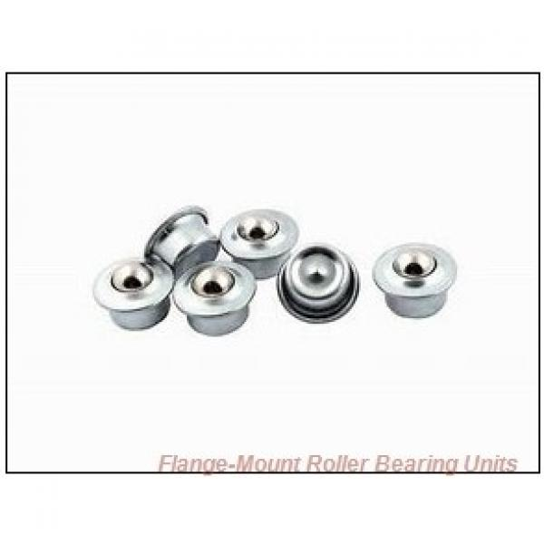 1-7/16 in x 4.0600 in x 5.7500 in  Dodge F4BK107RE Flange-Mount Roller Bearing Units #2 image