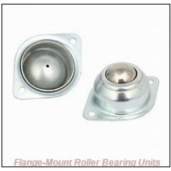 1-7/16 in x 4.4200 in x 5.7500 in  Dodge F4BK107R Flange-Mount Roller Bearing Units #1 image